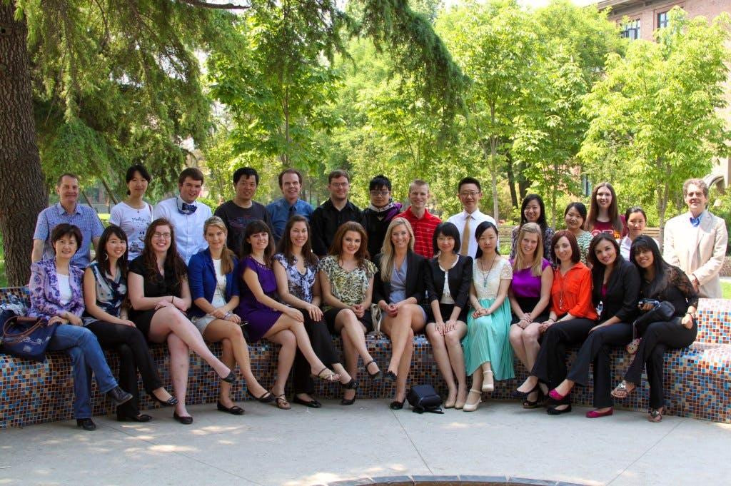 Tsinghua University Students