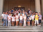 Wuhan University students