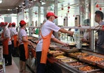 Wuhan University canteens