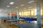 SHNU Pingpong (Table Tennis) Room of Xuhui Campus near West Gate