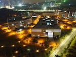 South University of Science and Technology of China (SUSTC) by night