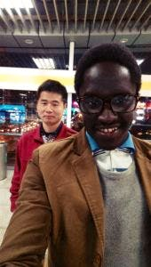 samson and his chinese friend