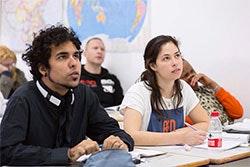 bfa international students class