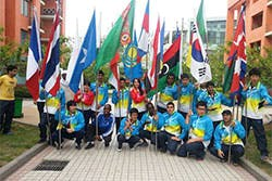 China University of Petroleum Students on Sports Day