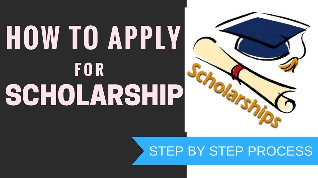 How to apply for Scholarship 2020